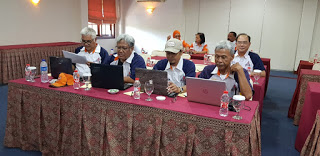WORK SHOP KEANGGOTAAN ORARI  , SERANG 6/10/2019